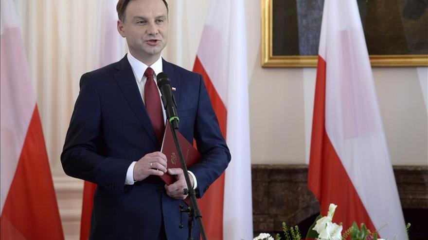 Andrzej Duda, nombrado oficialmente presidente electo de Polonia
