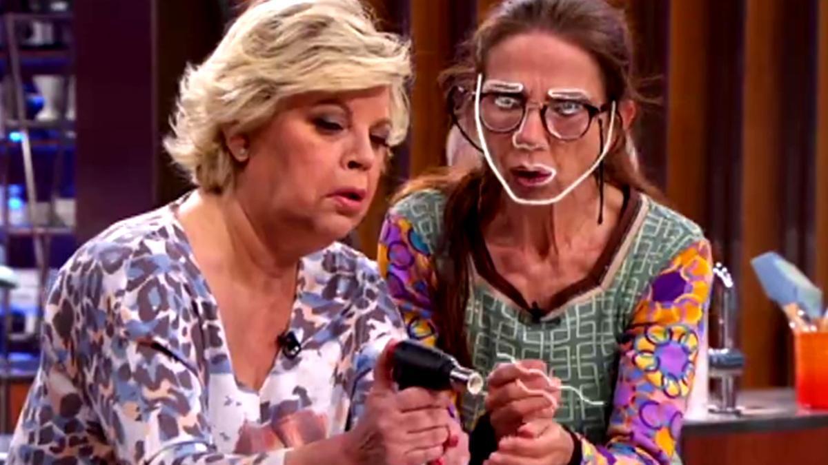 Terelu y Victoria Abril en 'MasterChef Celebrity 6'
