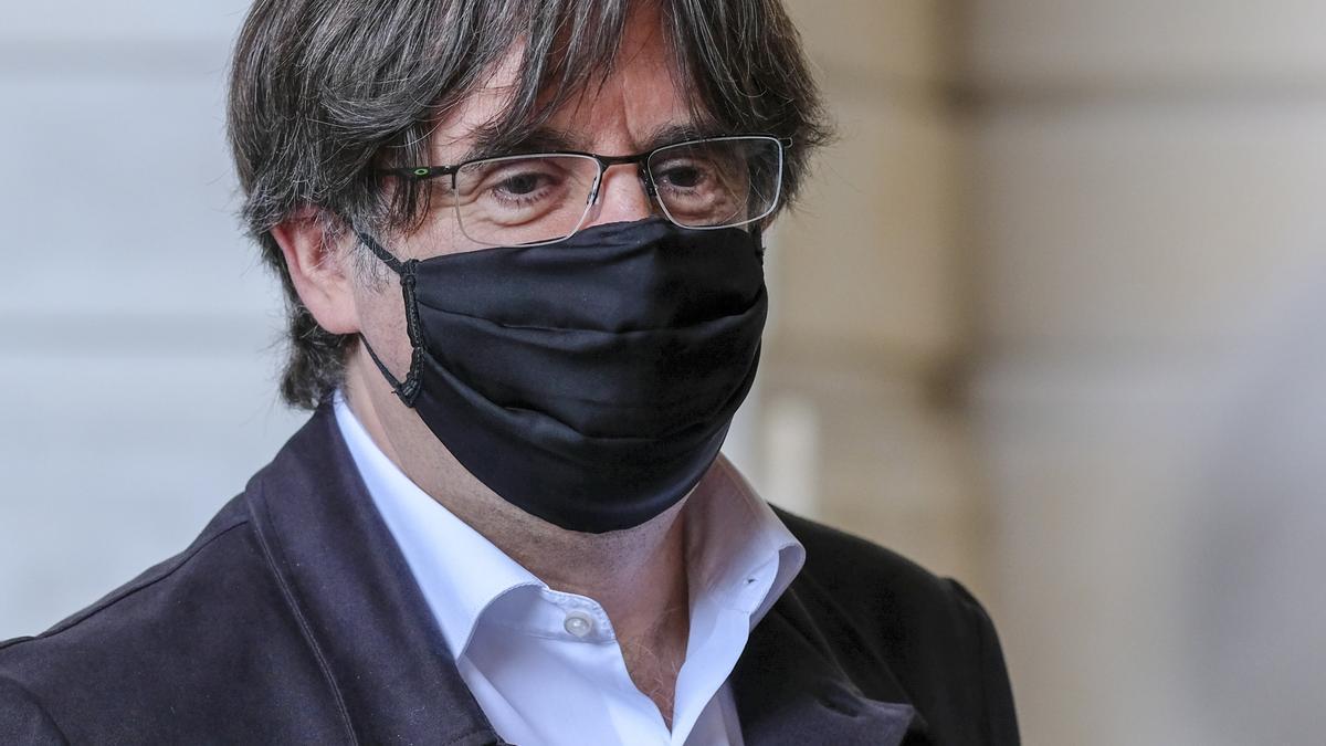 El expresidente de la Generalitat Carles Puigdemont.) EFE/EPA/OLIVIER HOSLET/Archivo