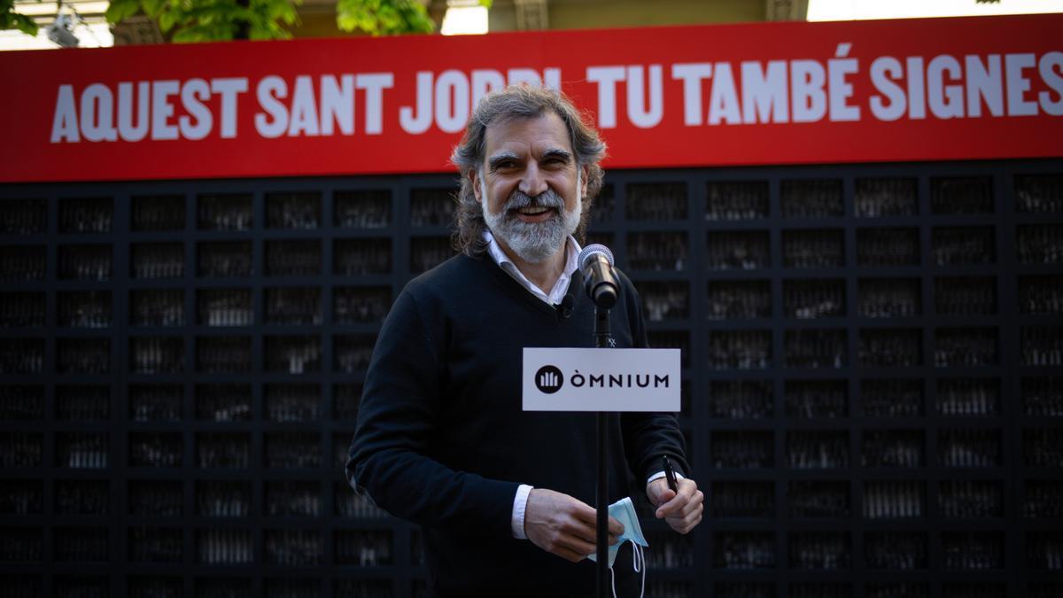 El presidente de Òmnium, Jordi Cuixart, en una imagen de archivo.