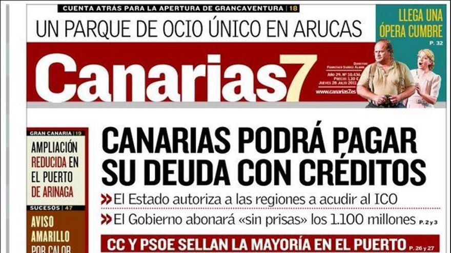 De las portadas del día (28/07/2011) #2