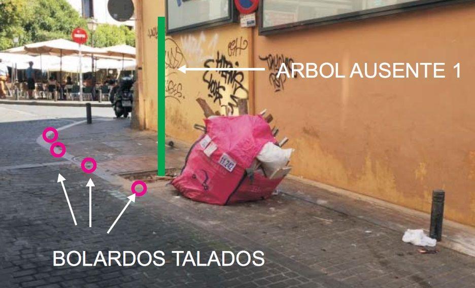 Estado de la calle Don Felipe