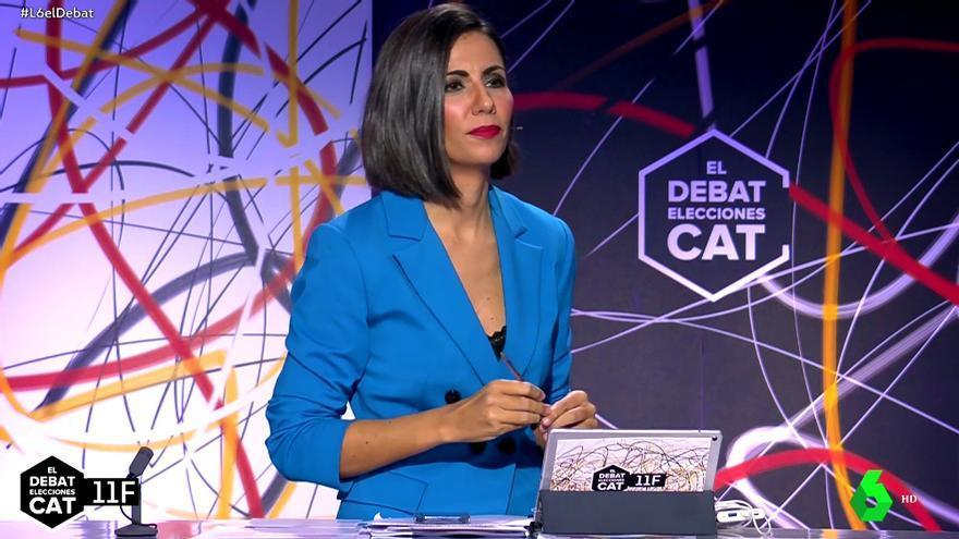 Ana Pastor en 'El debat'