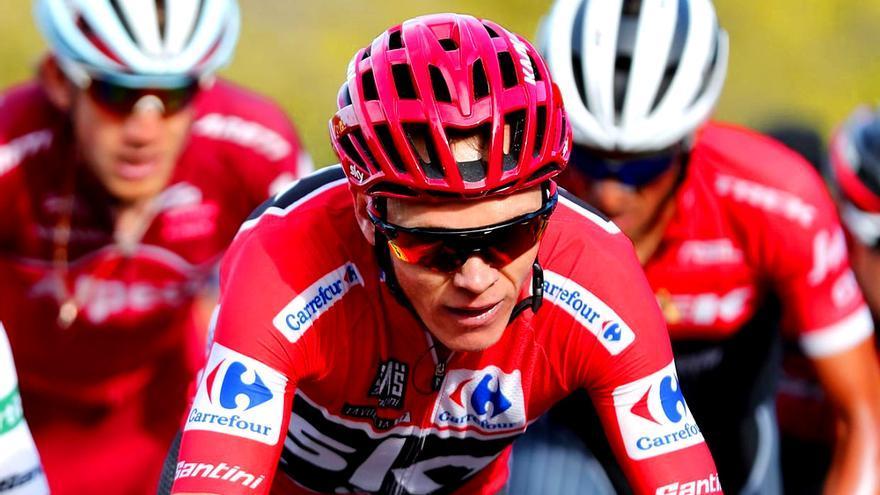 Froome en la Vuelta a españa 2017