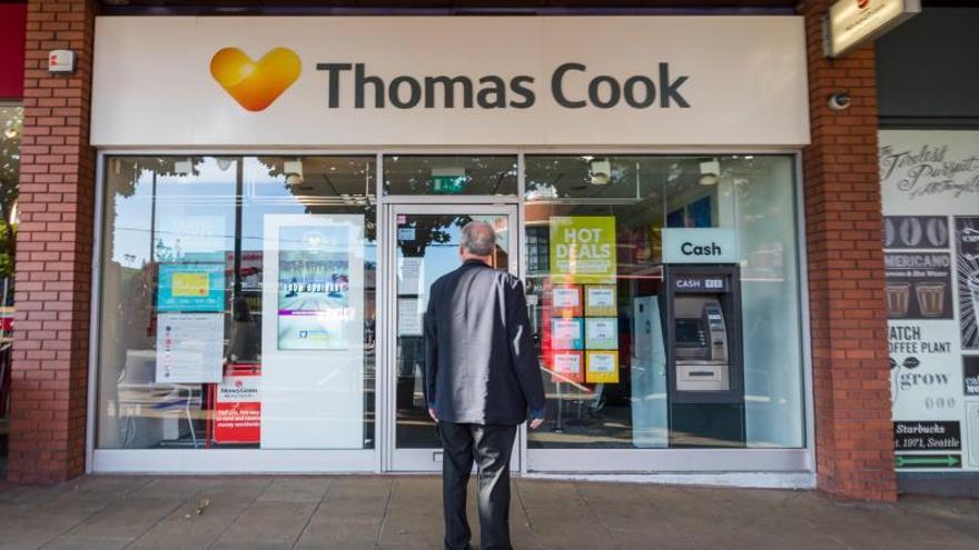 La quiebra de Thomas Cook pone en entredicho el modelo turístico tradicional