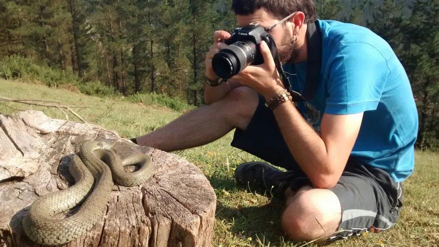 Aranzadi pone en marcha una campaña para concienciar sobre las serpientes