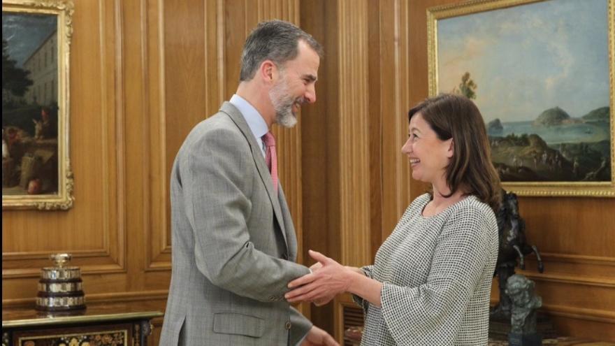 El Rey recibe este lunes a las autoridades de Baleares y el viernes ofrecerá una recepción en el Palacio de La Almudaina