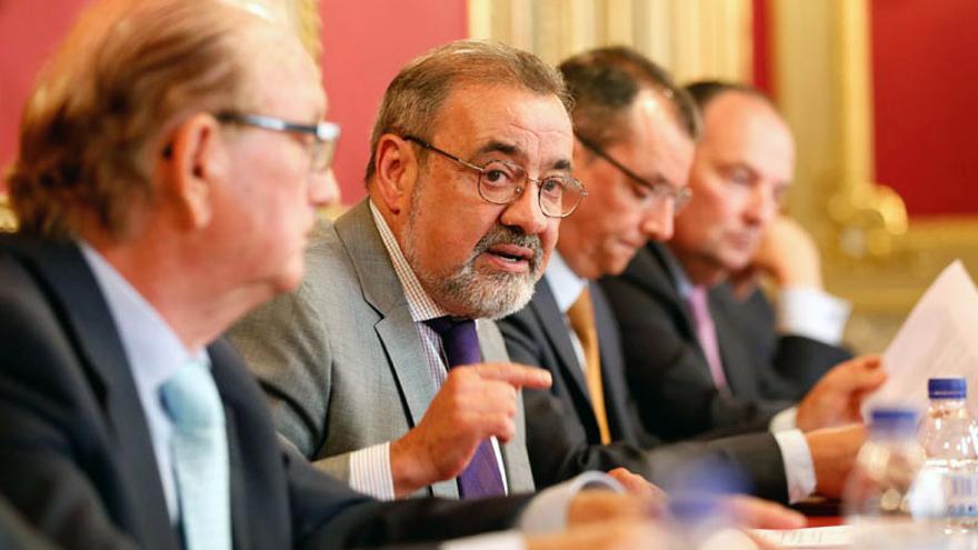 El presidente de Cierval, José Vicente González
