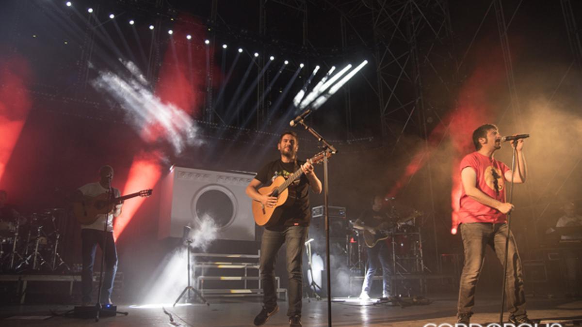 Imagen de archivo de un concierto de Estopa en Córdoba
