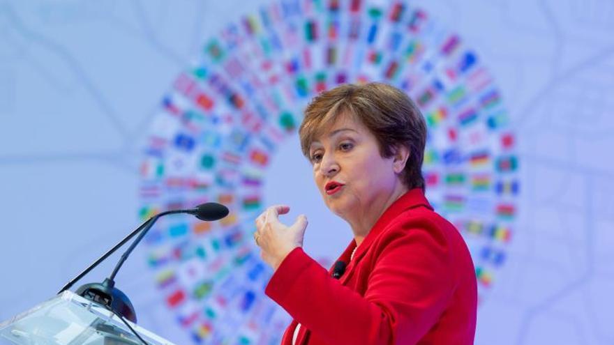 Kristalina Georgieva, directora gerente del Fondo Monetario Internacional(FMI).