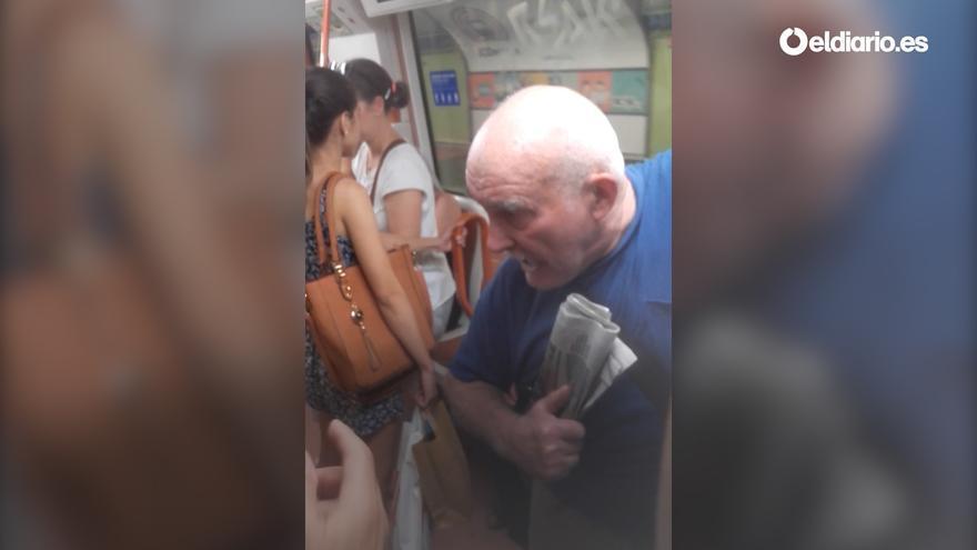Incidente racista en el metro de Madrid