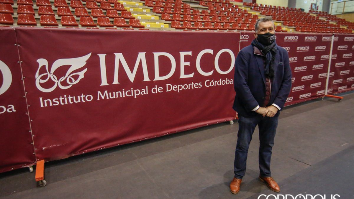 Manuel Torrejimeno, presidente del Imdeco.