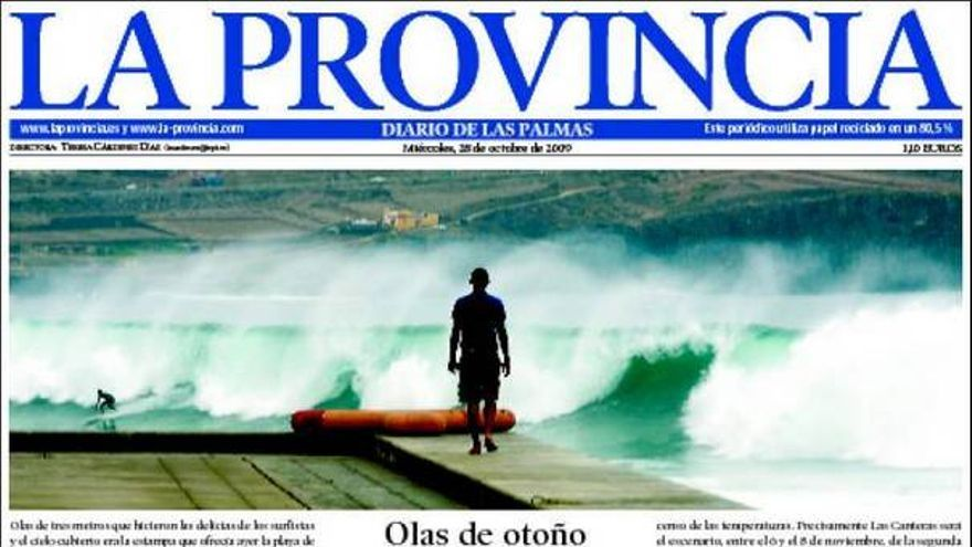 De las portadas del día (28/20/09) #8