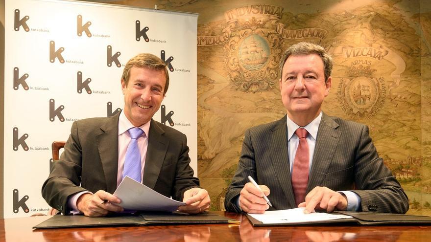 Kutxabank y la Cámara de Bilbao abren líneas de financiación preferente para impulsar el comercio exterior