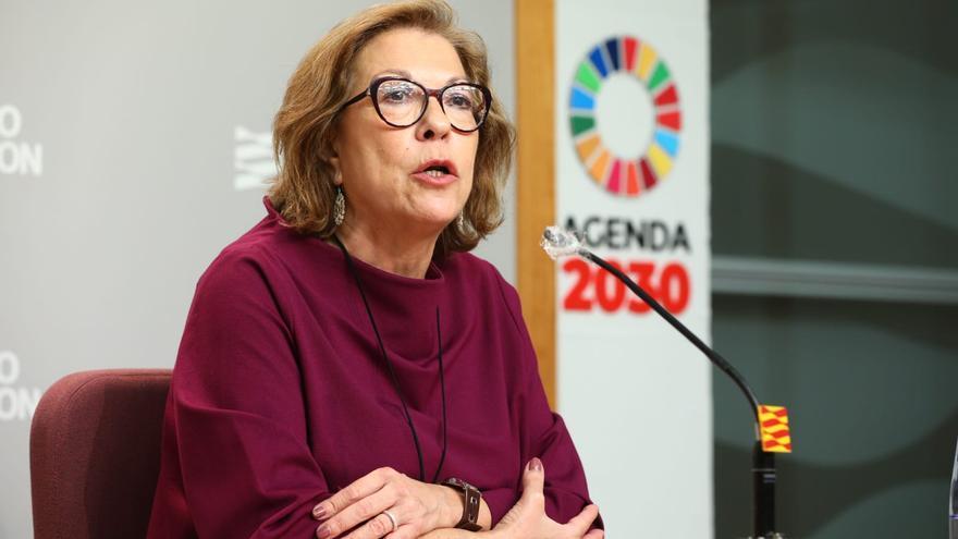 Pilar Ventura, consejera de Sanidad.