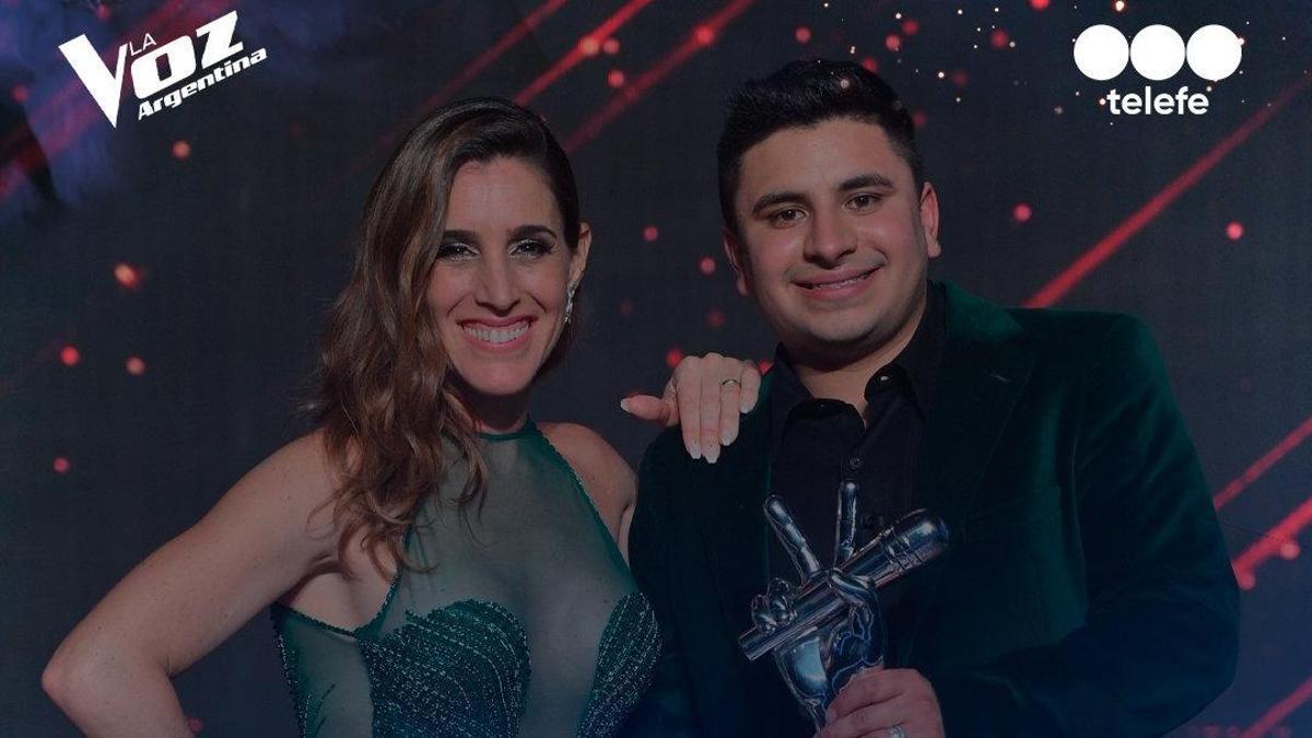 Francisco, el ganador de La Voz junto a Soledad