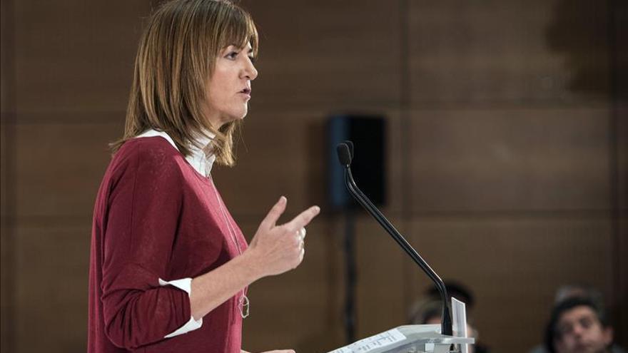 La secretaria general del PSE ve el liderazgo de Sánchez más sólido que nunca