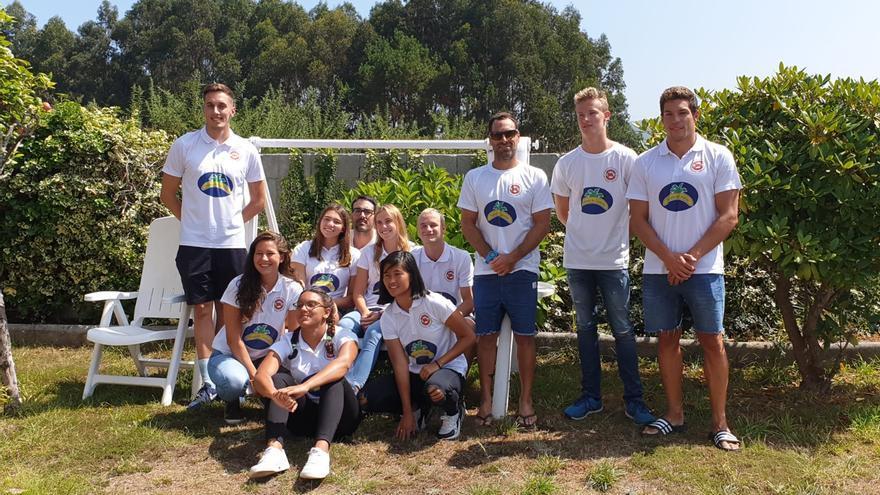 Miembros de la Federación Canaria de Salvamento y Socorrismo.