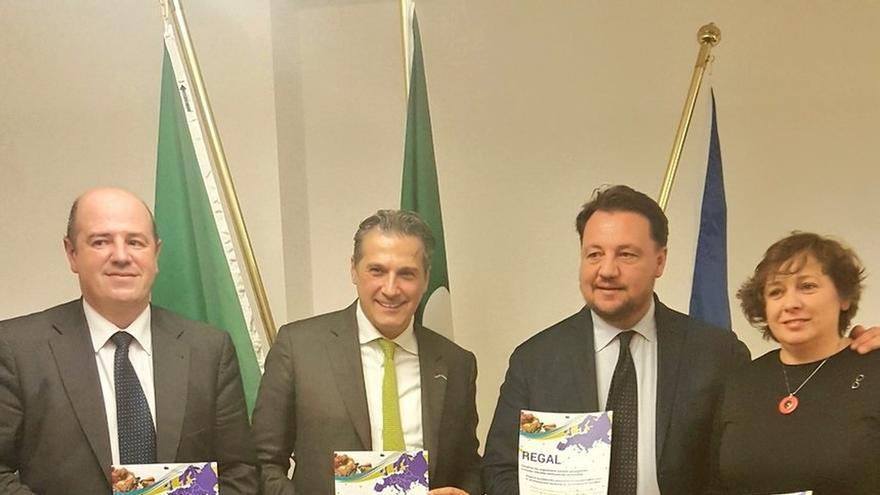 """Gobierno vasco presenta en Bruselas """"Regal"""", la red de regiones líderes en materia agroalimentaria"""