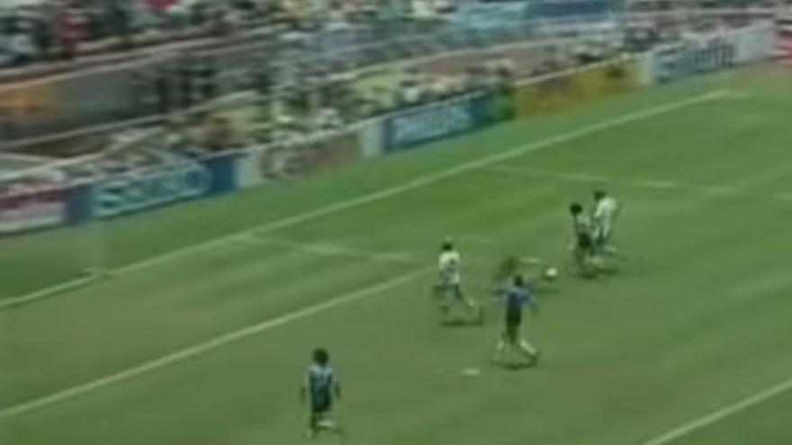El gol de Diego Armando Maradona en 1986
