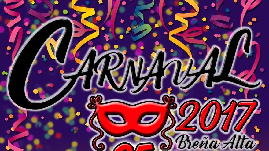 Cartel del Carnaval de Breña Alta.