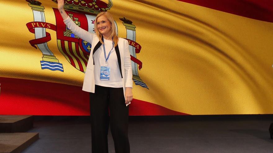Cristina Cifuentes ha sido elegida como presidenta del PP de Madrid en el 16 Congreso de la formación