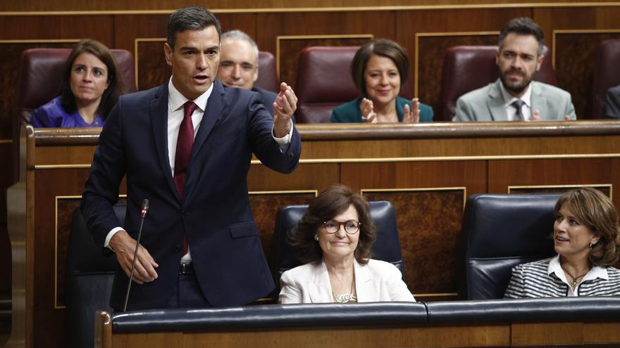Podemos, ERC, PNV y el Grupo Mixto prevén salvar a Sánchez de aclarar en el Congreso las dudas de PP y Cs sobre su tesis