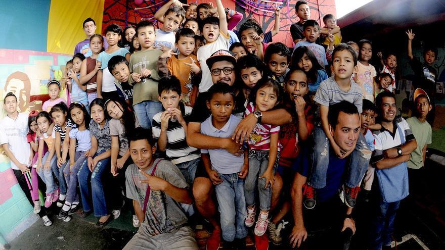 Juan Pablo Romero constituyó Los Patojos en 2006 como un proyecto de educación alternativa para niños y jóvenes / Fotografía: Los Patojos