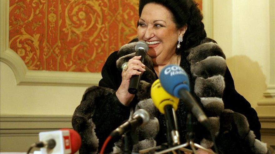Montserrat Caballé, Medalla Internacional de las Artes de la Comunidad de Madrid
