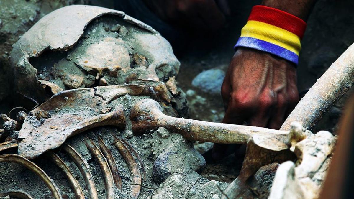 Una tesis pone cifras al trabajo en las fosas del franquismo: 9.009 víctimas recuperadas en 743 exhumaciones