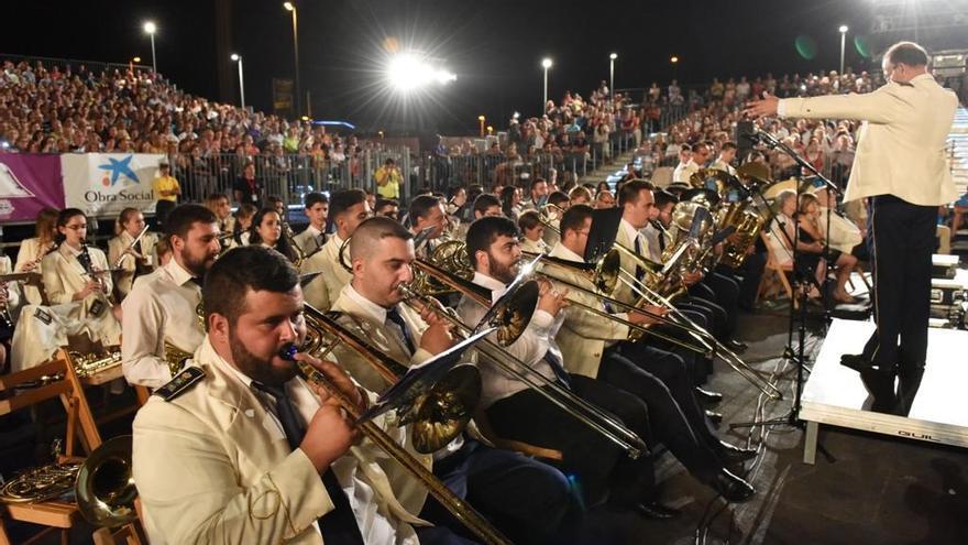 Banda Municipal de Música San Miguel de Santa Cruz de La Palma.