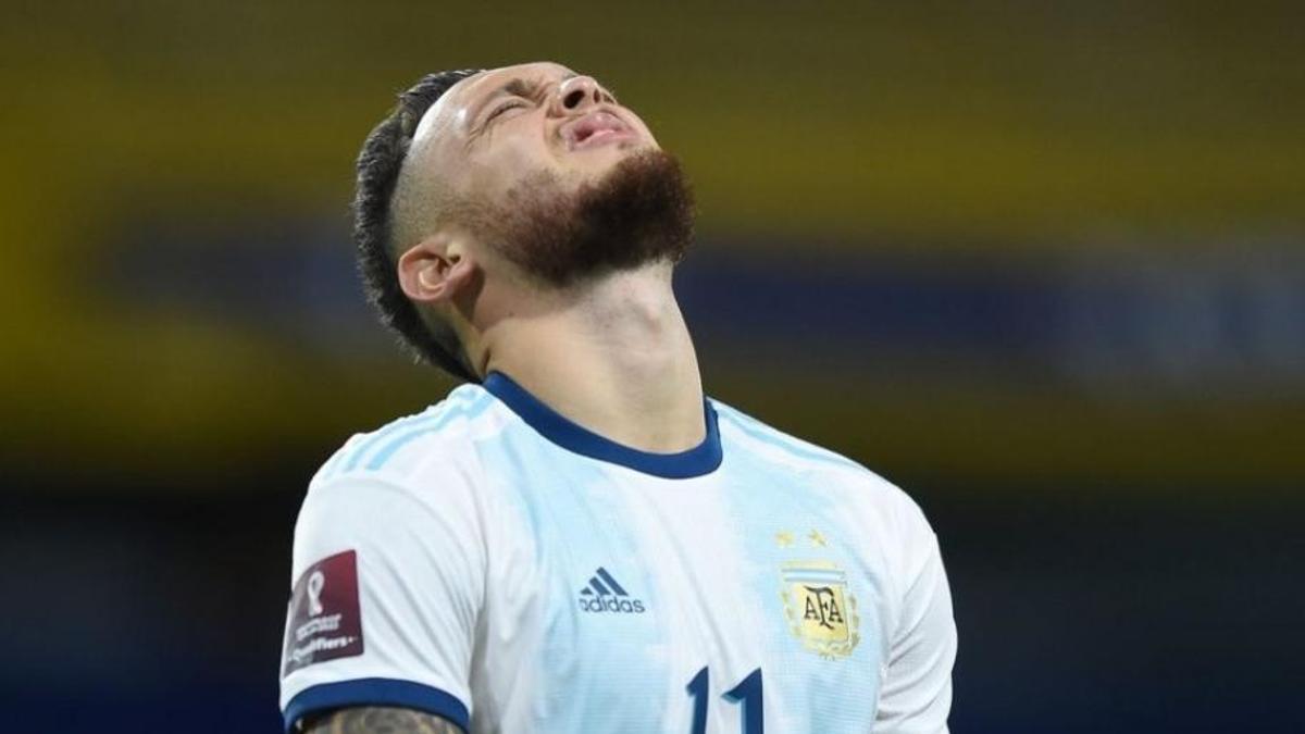 Lucas Ocampos es uno de los excluídos por Scaloni para la Copa América