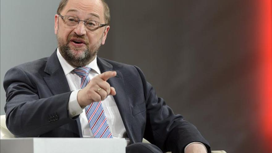 Martin Schulz dice que ni España ni otro país europeo pueden compararse con Grecia