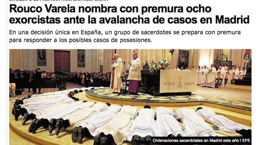 Los ejércitos de la Iglesia, preparados para el combate contra el Maligno.