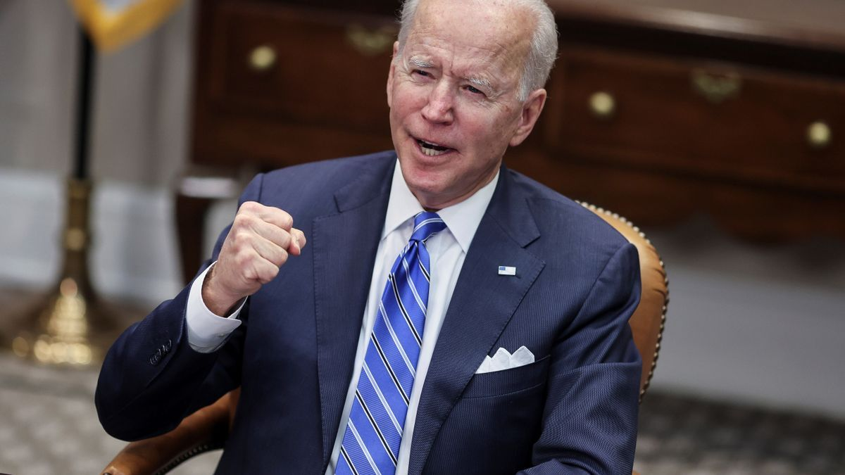 Imagen de archivo del presidente de los Estados Unidos, Joe Biden.