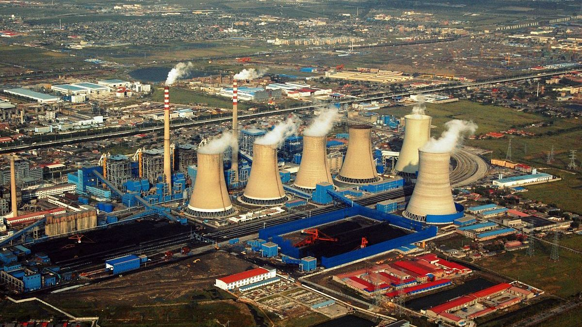 Central eléctrica de Tianjin (China).
