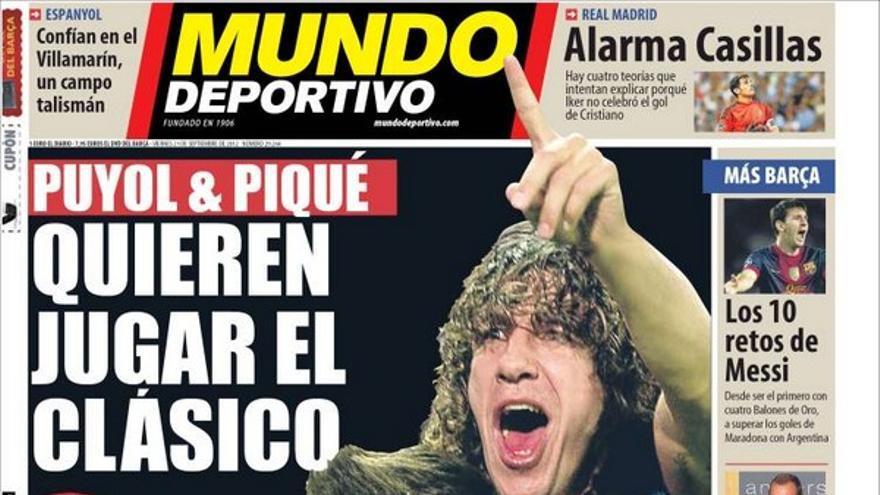 De las portadas del día (21/09/2012) #14