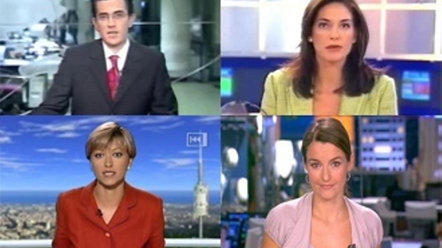 La transición de presentador@s de informativo a entretenimiento