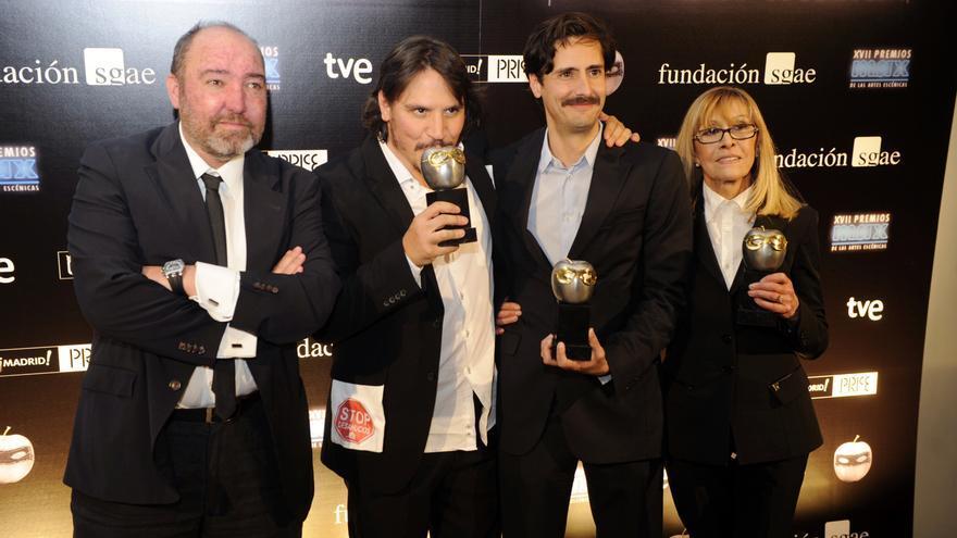 'Un trozo invisible de este mundo' triunfa en los XVII edición de los Premios Max / Luis Camacho