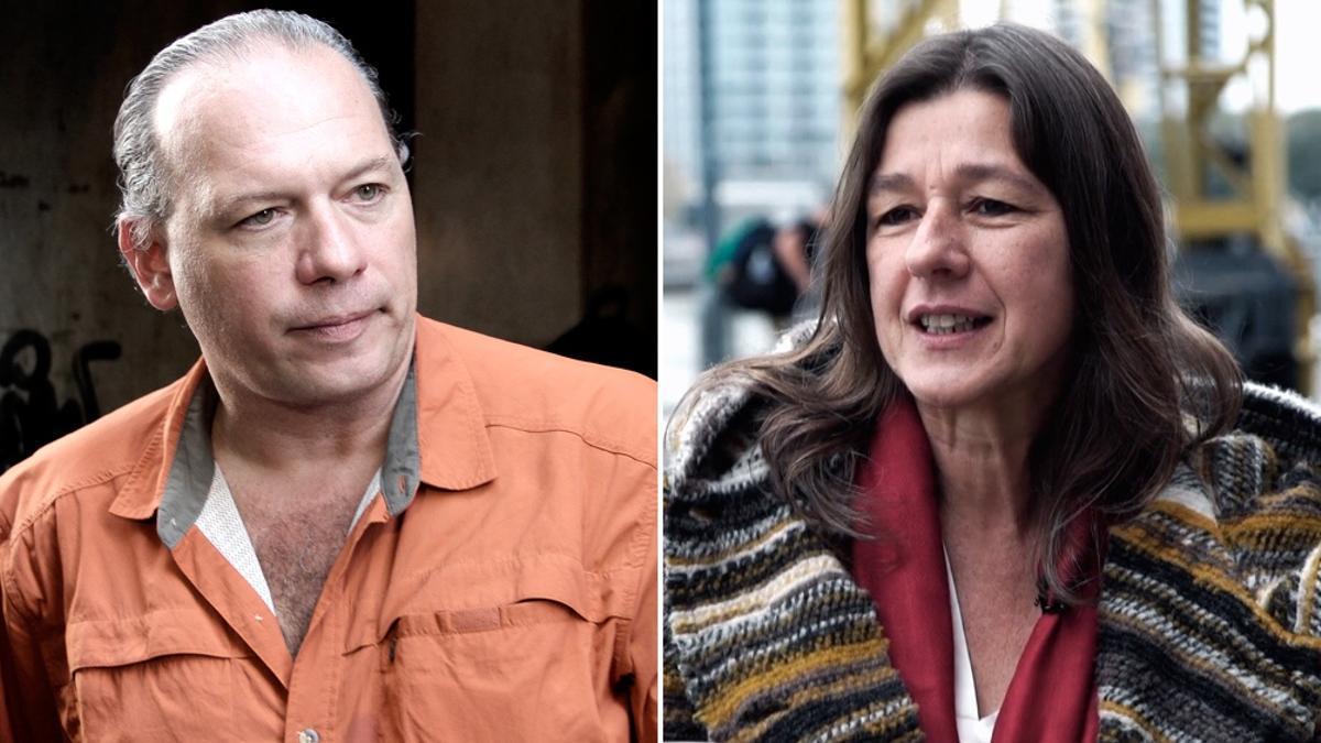 Sergio Berni, ministro de Seguridad de Provincia de Buenos Aires y Sabina Frederic, titular de la cartera en Nación.