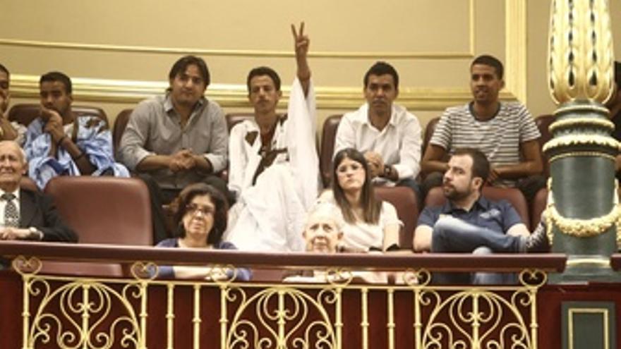 Saharauis En El Pleno Del Congreso