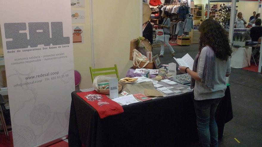 Un puesto de SAL este año en la Feria de Biocultura del País Vasco. / SAL