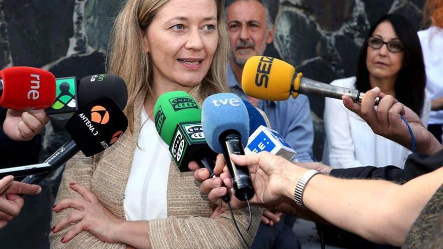 La diputada de Podemos en el Congreso, Victoria Rosell.