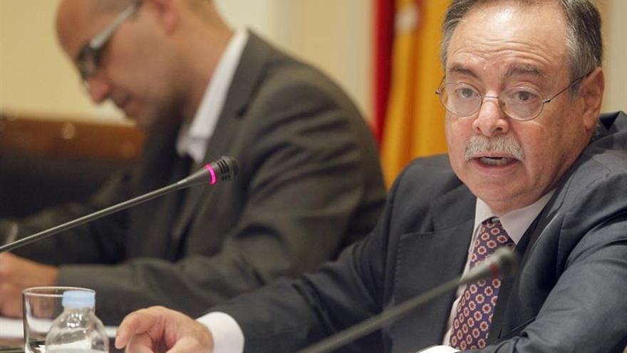 El consejero de Obras Públicas, Transportes y Política Territorial, Domingo Berriel