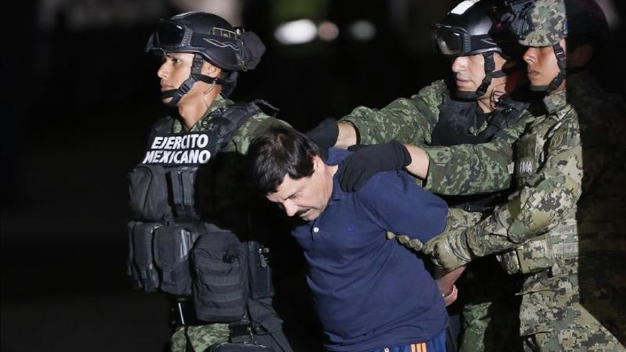 """Detienen al """"Chapo"""" después de su entrevista con Sean Penn"""