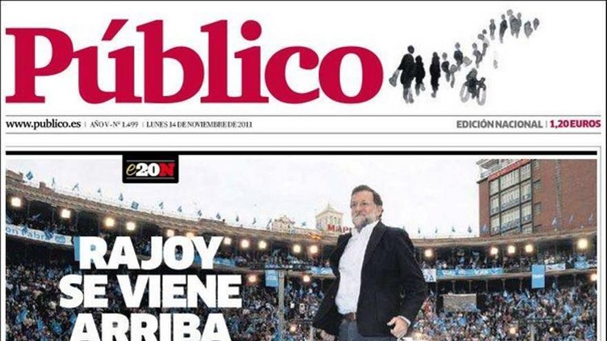De las portadas del día (14/11/2011) #9