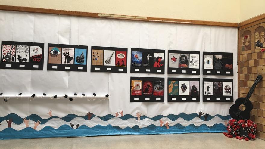 Exhibición por los estudiantes de Diseño