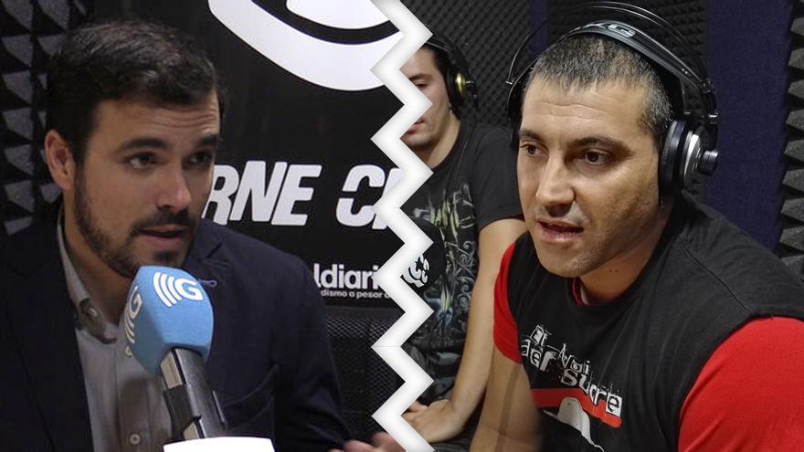 El Noi del Sucre y Alberto Garzón