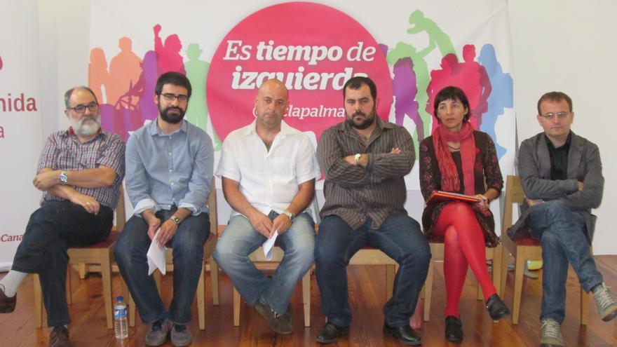 IUC ha presentado este sábado sus candidaturas en La Recova. Foto: LUZ RODRÍGUEZ.
