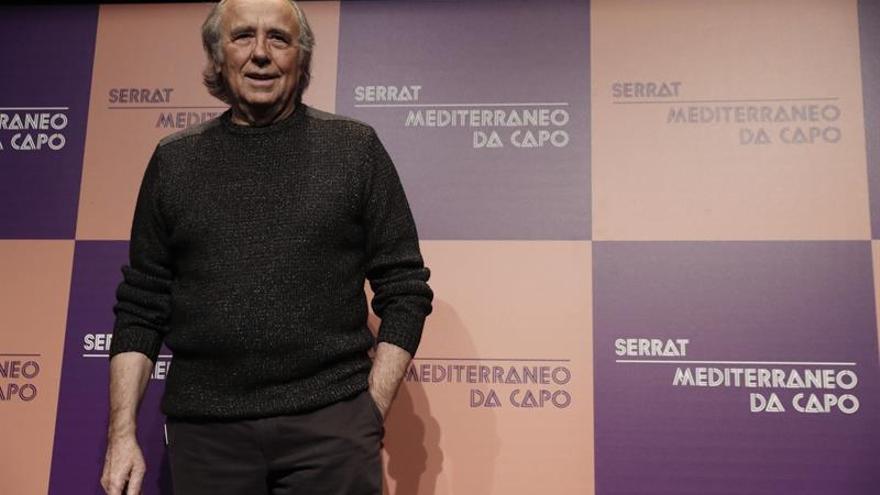 """Joan Manuel Serrat: """"En Cataluña no acaban de reconocer dónde está la salida"""""""